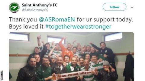 St Anthony's tweet