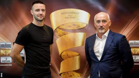 Josh Taylor and Barry McGuigan