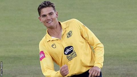 Chris Green took five wickets at an economy rate of 6.69 in his six T20 matches for the Bears in 2018