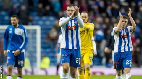 Kilmarnock are 11th in the Scottish Premiership