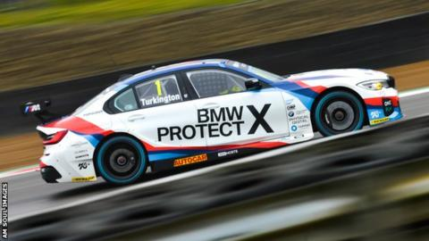 British Touring Cars: Turkington leads series despite best place of ninth at Thruxton