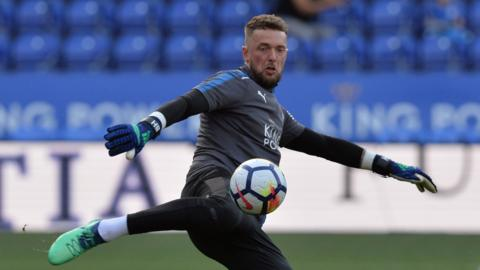 Ben Hamer of Leicester City