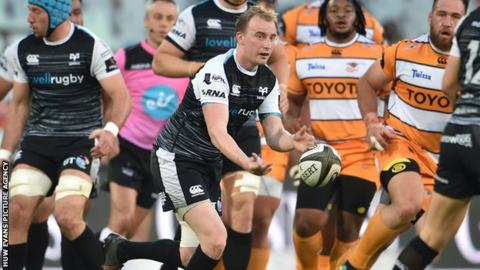 Luke Price made his Ospreys debut in 2014 and has played 28 games for the region