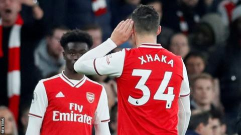 Granit Xhaka: Arsenal to offer counselling to midfielder after fans' argument