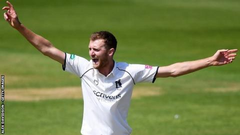 Five-wicket hero Oliver Hannon-Dalby was making his second Championship appearance of the season for injury-hit Warwickshire, having been used primarily in one-day cricket in his seven seasons with the Bears