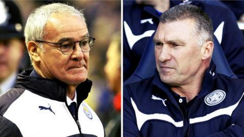 Claudio Ranieri succeeded Nigel Pearson
