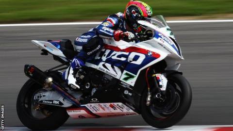 Michael Laverty will be back in Tyco BMW colours in the British Superbike Championship next year