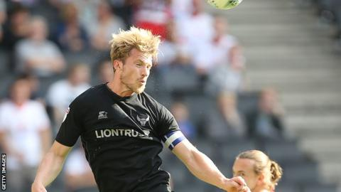 Oxford United defender Christian Ribeiro