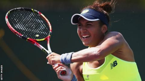 Heather Watson Loses In The Volvo Car Open As Naomi Broady Wins In