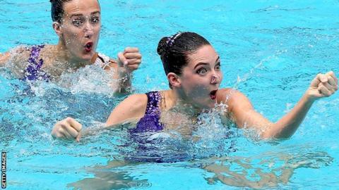 Katie Clark and Olivia Federici