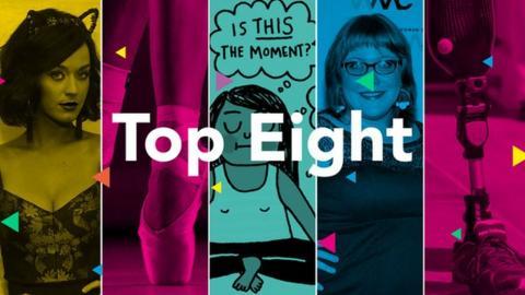 Top Eight: Katy Perry, ballet shoes, cartoon, Lindy West, prosthetic leg