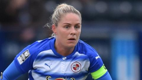 Kirsty Pearce has scored one goal for Reading Women this season