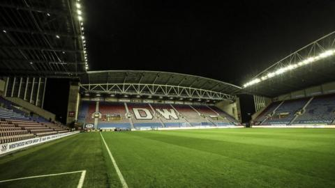 The DW Stadium is home to both Wigan Athletic and reigning Super League champions Wigan Warriors