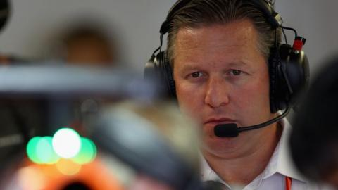 Formula One in 'very fragile state', warns McLaren boss Brown