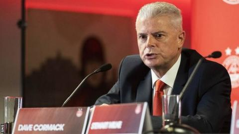 Chairman Dave Cormack's investment group will give Aberdeen a further £2m