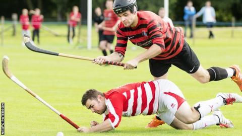 Oban Camanachd against Lochaber
