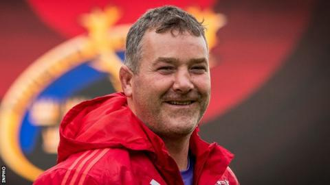 Anthony Foley earned 62 Ireland caps before joining Munster's coaching staff
