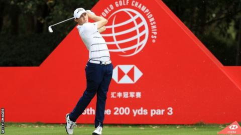 Finau leads WGC-HSBC Champions after Round 3
