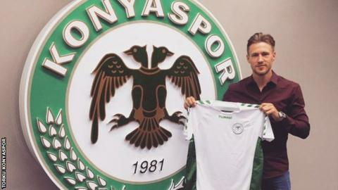 Barry Douglas with his Konyaspor strip