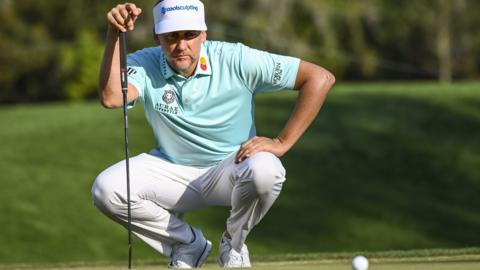 England golf player Ian Poulter