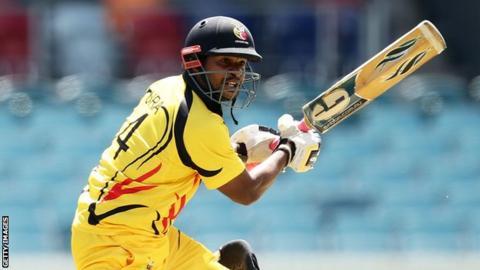 Papua New Guinea opening batsman Tony Ura scored 151 runs from 142 balls