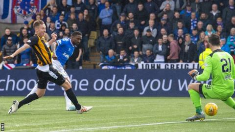 Defoe's superb turn and finish gave Rangers a first-half lead