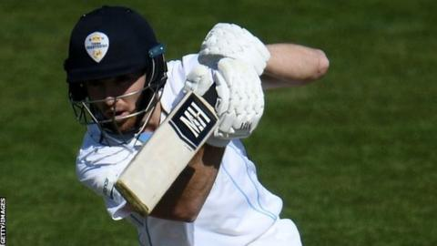 Lace had been ever-present in the Derbyshire side this season