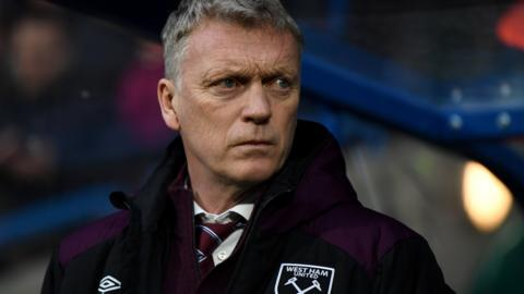 West Ham United's David Moyes