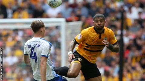 Joss Labadie was a key member of the Newport squad that reached the League Two play-off final last season