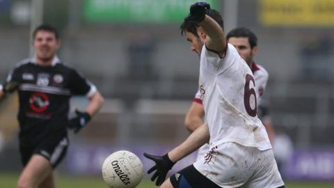 Chrissy McKaigue of Slaughtneil has won Ulster Championship medals in football and hurling in 2016