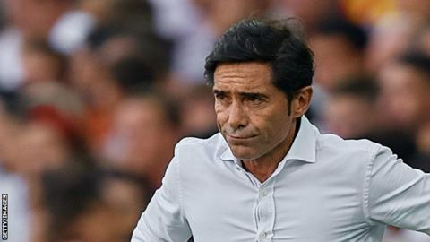 Marcelino is the first manager to be sacked in La Liga this season