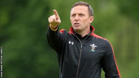 Jason Strange coached Wales Under-20 to the 2016 Grand Slam