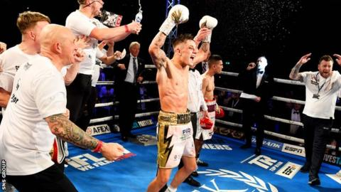 McGregor's win came via a controversial split decision