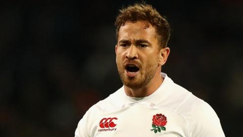 Recalled England fly-half Danny Cipriani