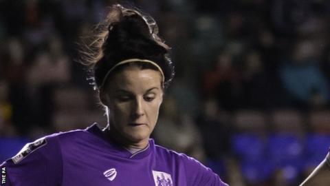 Jasmine Matthews has played for England at U17, U19 and U23 level