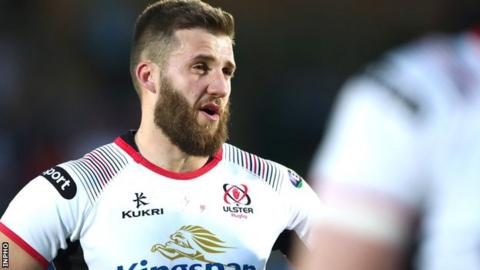 Stuart McCloskey has played just once for Ulster this season