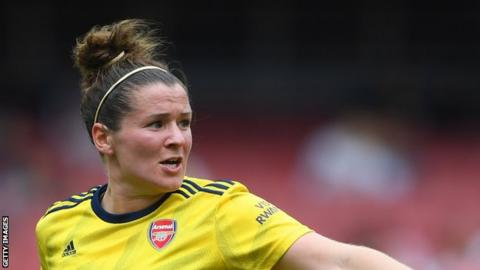 Emma Mitchell joins Tottenham having made five appearances for Arsenal so far this season
