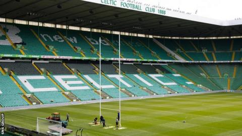 The stage is set at Celtic Park for the Pro14 final between Glasgow and Leinster on Saturday
