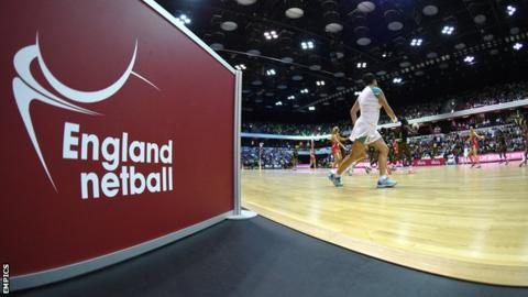 England netball general sign