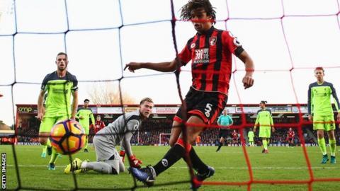 Bournemouth vs Liverpool, Premier League