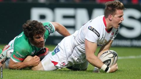 Wing Craig Gilroy signs a two-year contract extension at Ulster