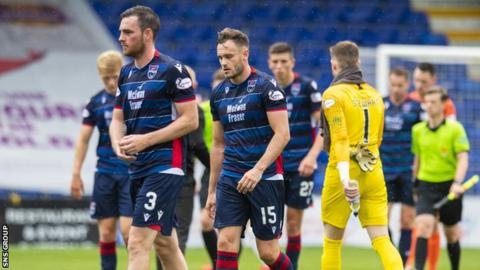 Ross County shipped four goals to Livingston on their last home appearance