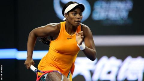 Former U.S. Open champion, Sloane Stephens, qualifies for first WTA finals