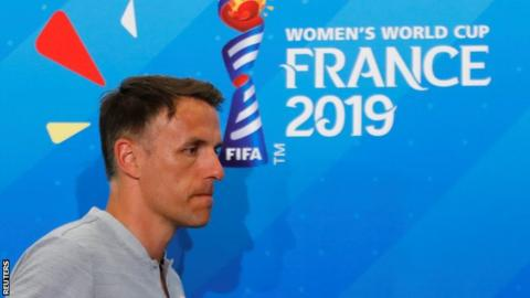 Women's World Cup: England focus before Japan is on topping group, says Neville
