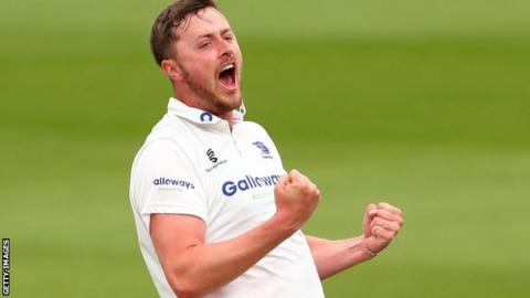 England Lions fast bowler Ollie Robinson has taken 48 wickets in eight County Championship matches this season