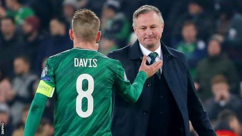 Michael O'Neill ends Northern Ireland manager role