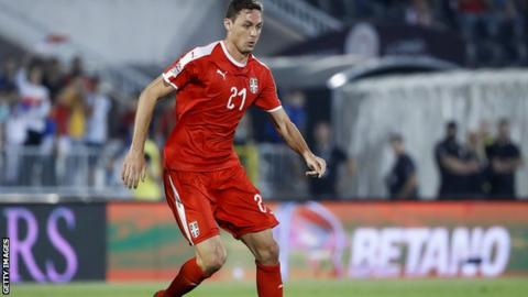 Manchester United's Nemanja Matic pulls out of Serbia squad with injury