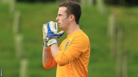 Callum Burton was capped by England at Under-16, Under-17 and Under-18 level