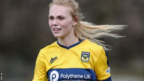 Oxford United Women's defender Rosie Lane