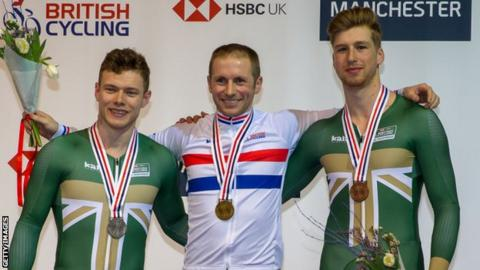 European Games: Jason Kenny named in 101-strong GB squad